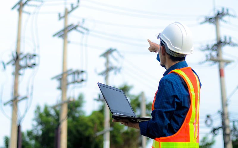 Utilities Telecom Worker